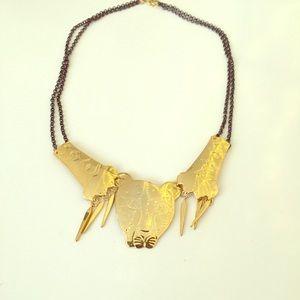 Nora Kogan Sima Gold Necklace